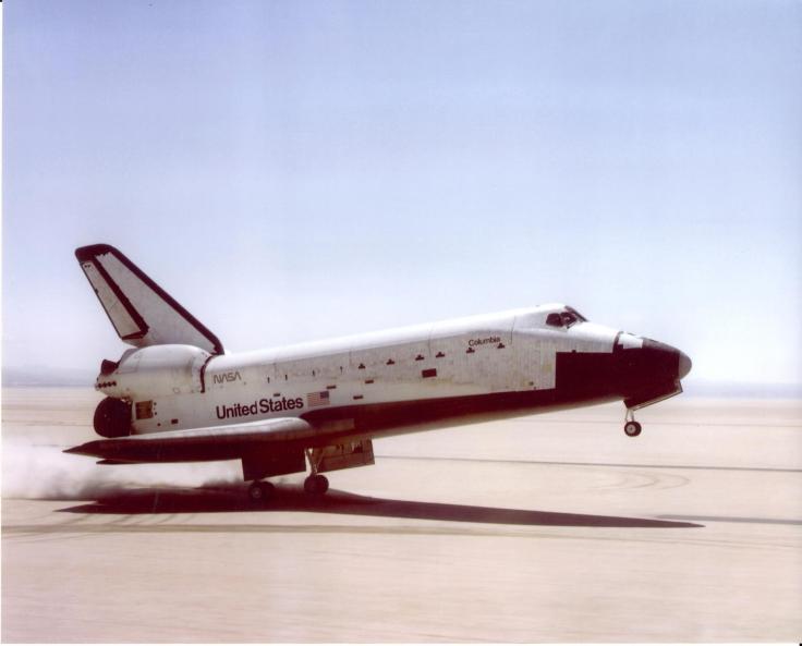 Columbia Landing (NASA)