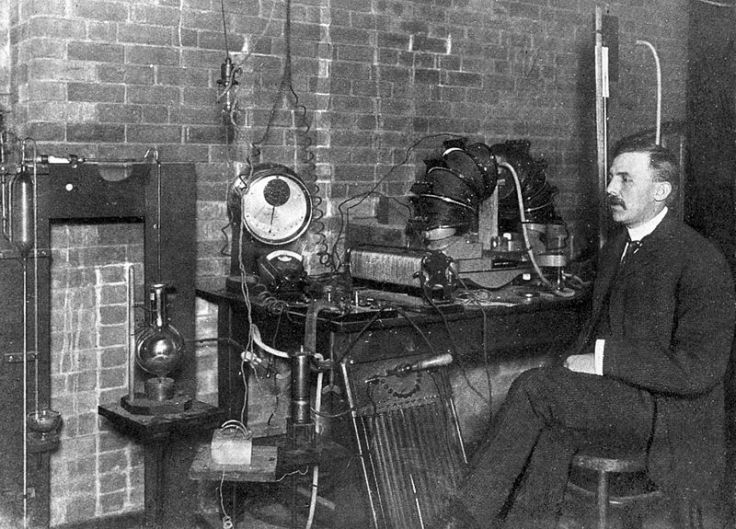 Ernest Rutherford and Machine (Ingenium)